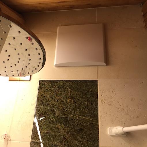 L'aspiratore nel locale bagno