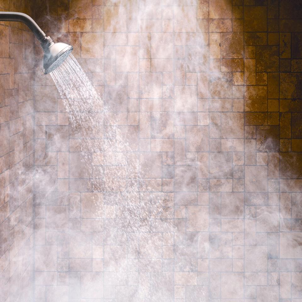 vapore dalla doccia
