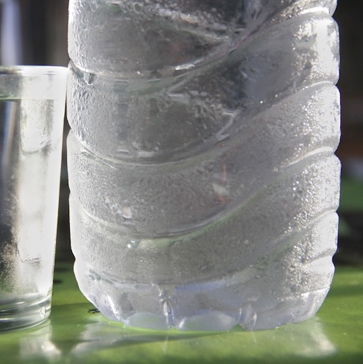 L'esempio della condensa sulla bottiglia